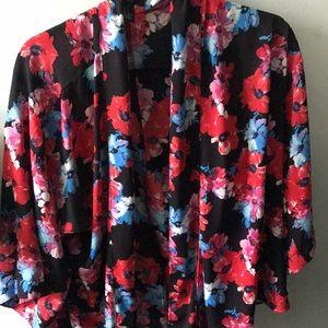 Floral Chiffon Kimono